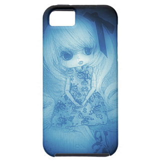Ysabelle in blue samsung s4 case