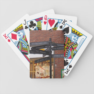 Ystad Sweden Bicycle Playing Cards