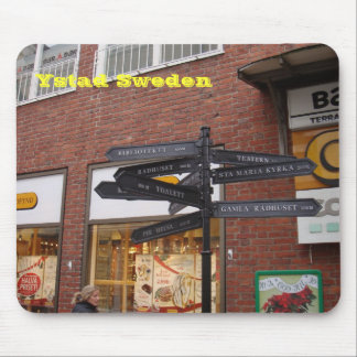 Ystad Sweden Mouse Pad