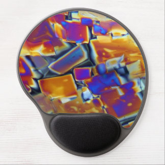 Yttrium nitrate under the microscope gel mouse pad