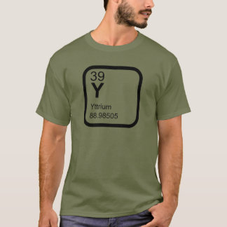 Yttrium - Periodic Table science design T-Shirt