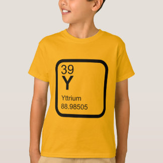 Yttrium - Periodic Table science design T-Shirt