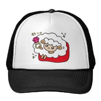yu bi wa me e ru trucker hat