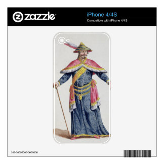 Yu Emperor of China from 'Receuil des Estampes, Re Decal For The iPhone 4