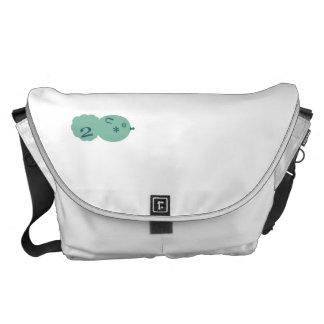 yu hi yu hi kingdom bag (mint ice) messenger bags