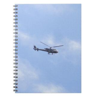 YU-HPZ Sud-Aviation 341G Gazelle 342J Notebook