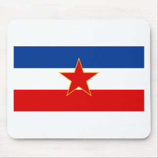 YU zastava Mousepad