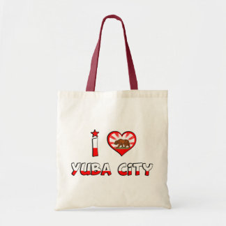 Yuba City, CA Canvas Bag