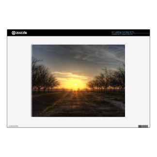 Yuba Country Sunset Laptop Skin