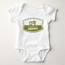 Yuba-Sutter Grown Baby Bodysuit