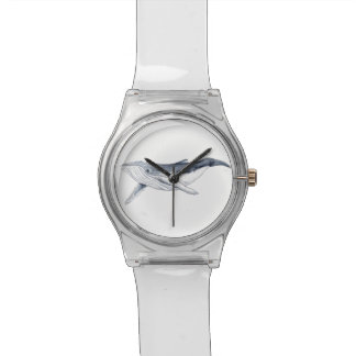 Yubarta drinks whale clock wrist watch