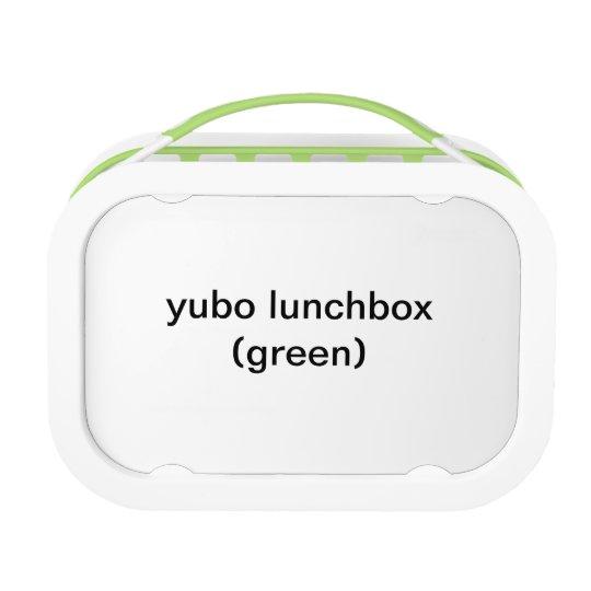 Yubo Lunchbox, Green