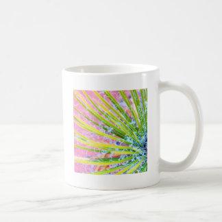 Yuca psicodélica taza de café