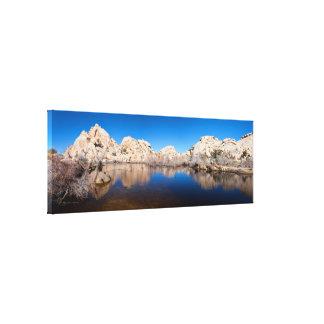 Yuca que reúne las aguas, presa de Barker, Califor Lienzo Envuelto Para Galerías