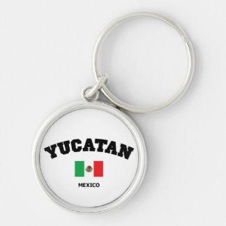 Yucatan Block Keychain