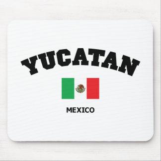 Yucatan Block Mouse Pad