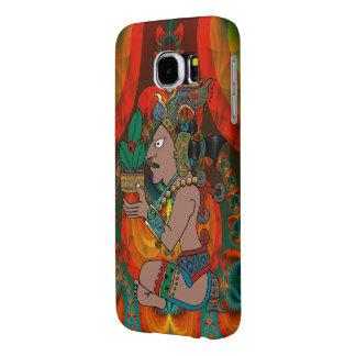 Yucatán Mexicano psicodélico Visiones Fundas Samsung Galaxy S6