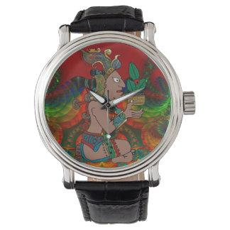 Yucatán Mexicano psicodélico Visiones Reloj