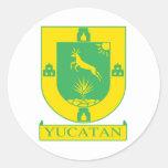 Yucatan, Mexico flag Stickers