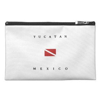 Yucatan Mexico Scuba Dive Flag Travel Accessories Bag