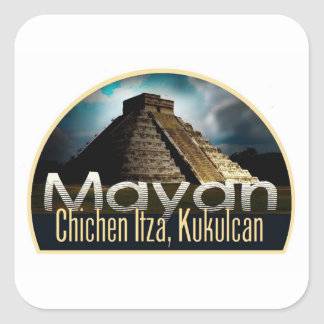 YUCATAN Mexico Square Sticker