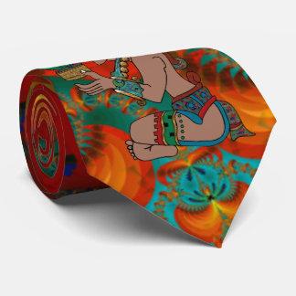 Yucatan Psychedelic Mexicano Visiones Neck Tie