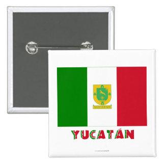 Yucatán Unofficial Flag Pins