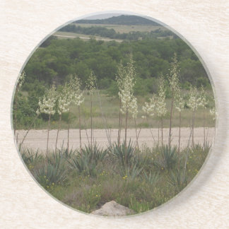 Yucca Blossoms. Drink Coaster