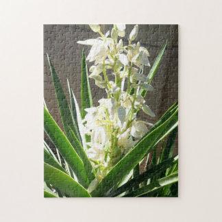 Yucca Flower Jigsaw Puzzle