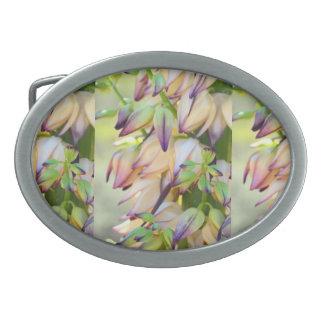 yucca flowers belt buckle