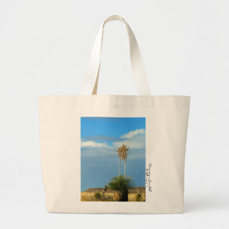 Yucca in New Mexico Large Tote Bag