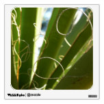 Yucca Leaves Green Abstract Nature Photography Wall Sticker
