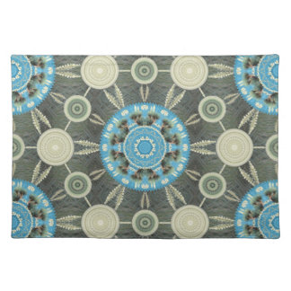 Yucca Mandala Array Placement Cloth Placemat