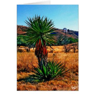 Yucca Meets Windmill Card