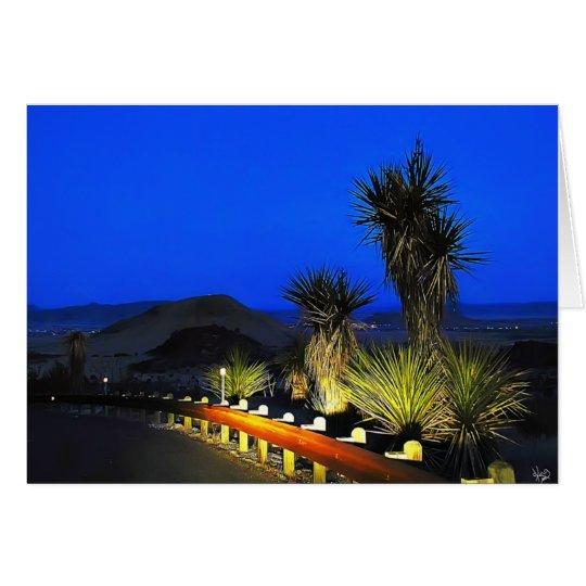 Yucca Morn Card