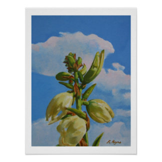 YUCCA RISING II small Poster
