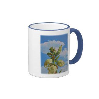 Yucca Rising Ringer Coffee Mug