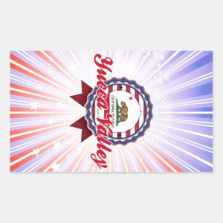 Yucca Valley CA Rectangular Sticker