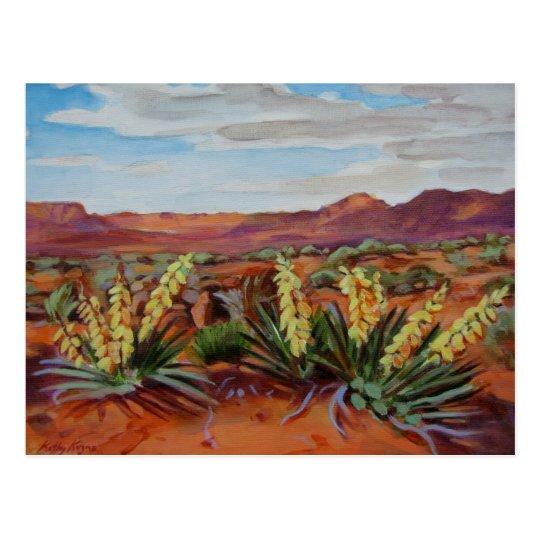 'Yuccas' Postcard