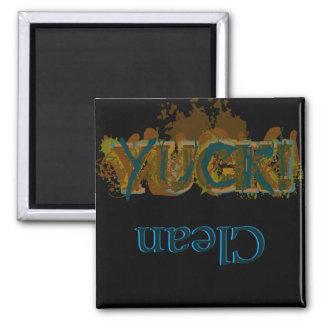 Yuck!/Clean dishwasher magnet (dark)
