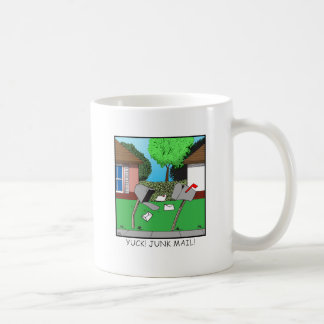 YUCK! JUNK FOOD! COFFEE MUG