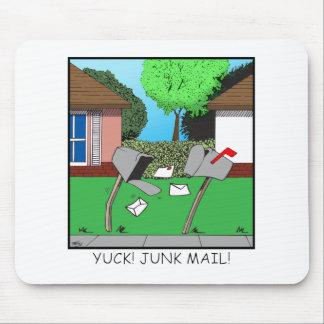YUCK! JUNK FOOD! MOUSE PAD