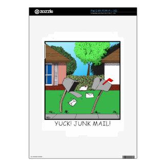 YUCK! JUNK FOOD! SKIN FOR iPad 2