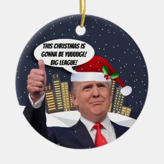 Yuge Christmas! Donald Trump Tree Ornament