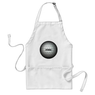 Yuge Golf Ball Adult Apron