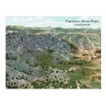 Yugoslavia, campo del negro de Monte Tarjeta Postal