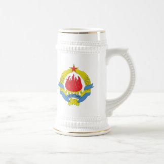 Yugoslavia Coat of Arms (1963) Mug