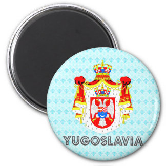 Yugoslavia Coat of Arms Magnet