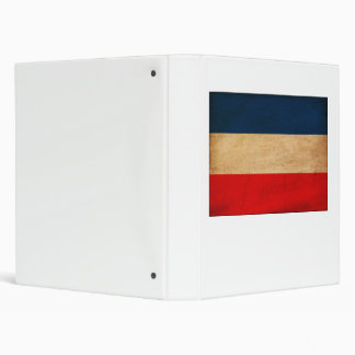 Yugoslavia Flag 3 Ring Binder