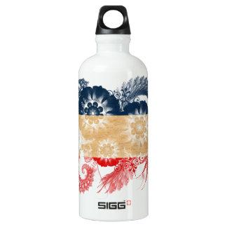 Yugoslavia Flag Aluminum Water Bottle